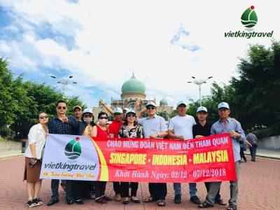 Tour singapore-indonesia-Malaysia 6 ngày 5 đêm