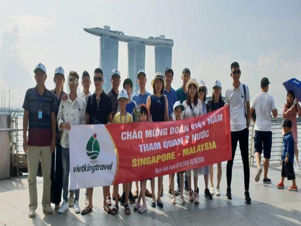 Tour du lịch Singapore- Malaysia 5 ngày 4 đêm