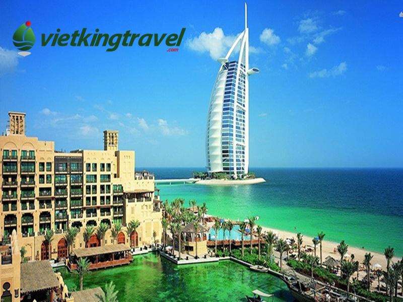 Tour Dubai khám phá khách sạn hình cánh buồm