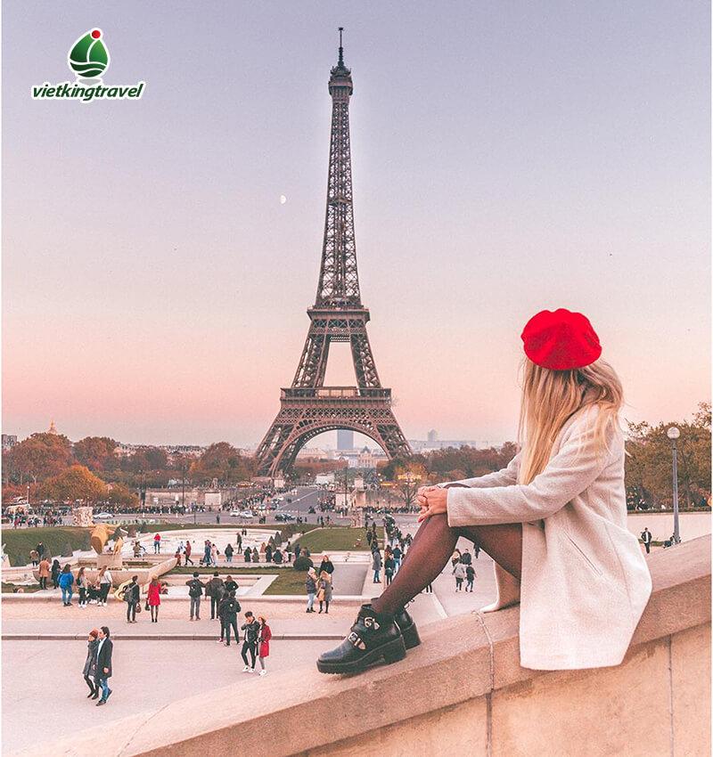 tháp Eiffel (Eiffel Tower) du lịch châu âu