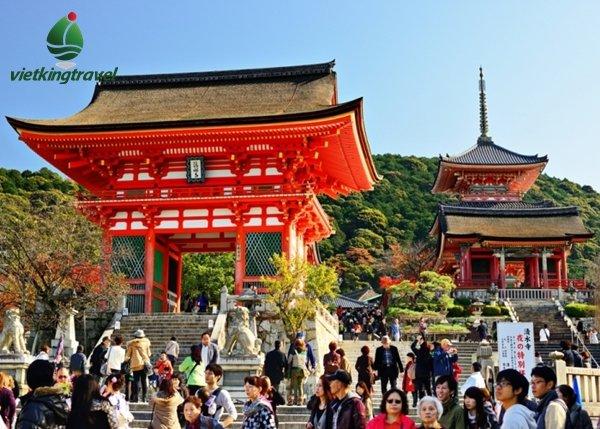 tour du lịch nhật bản cung đường vàng 6 ngày