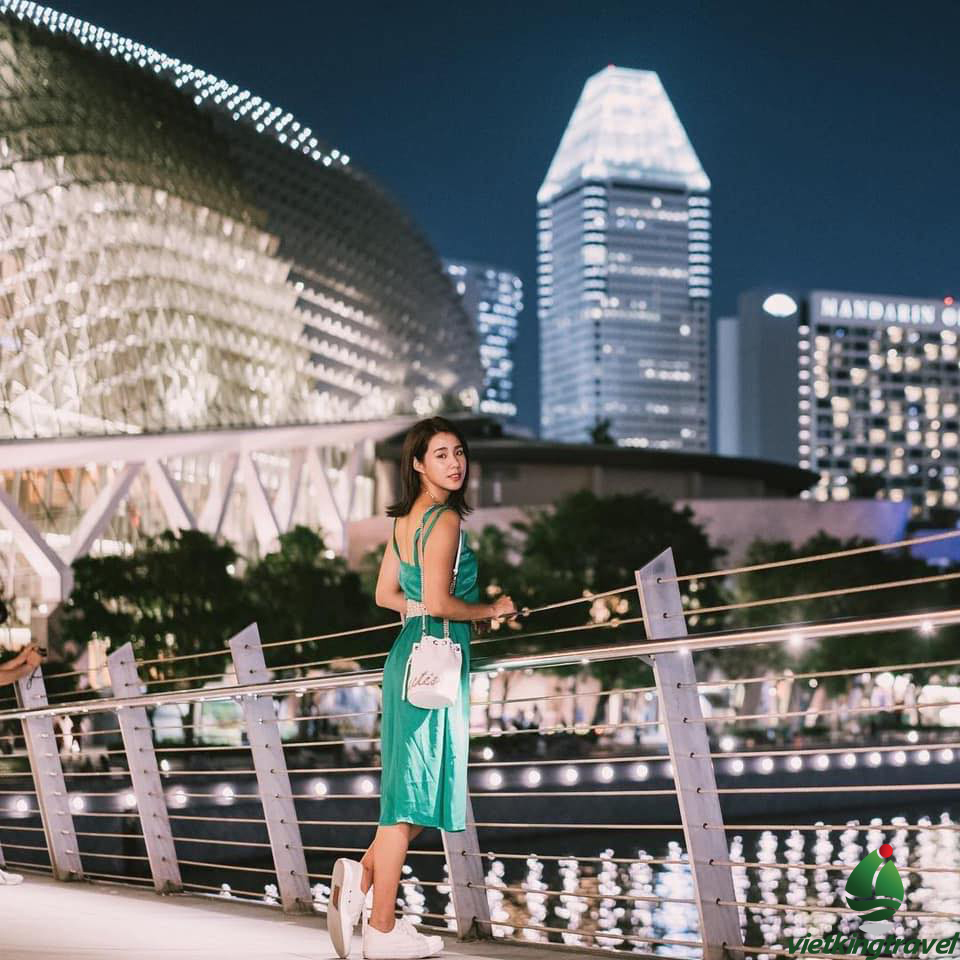 Nhà hát Esplanade - Singapore