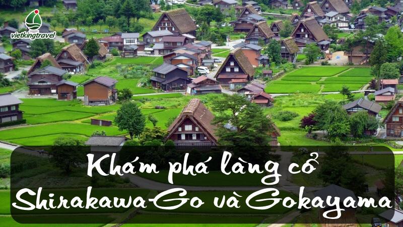 Làng lịch sử Shirakawa-Go và Gokayama Nhật Bản