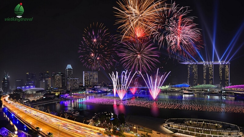 tết nguyên đán 2020 khung cảnh chào đón năm mới tại Singapore
