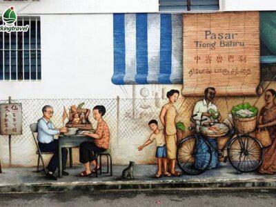 Tiong Bahru là nơi giao hòa giữa một Singapore cổ kính và hiện đại