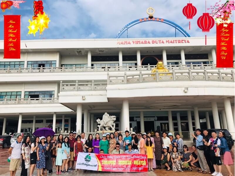 du lịch singapore indonesia malaysia tết 2020