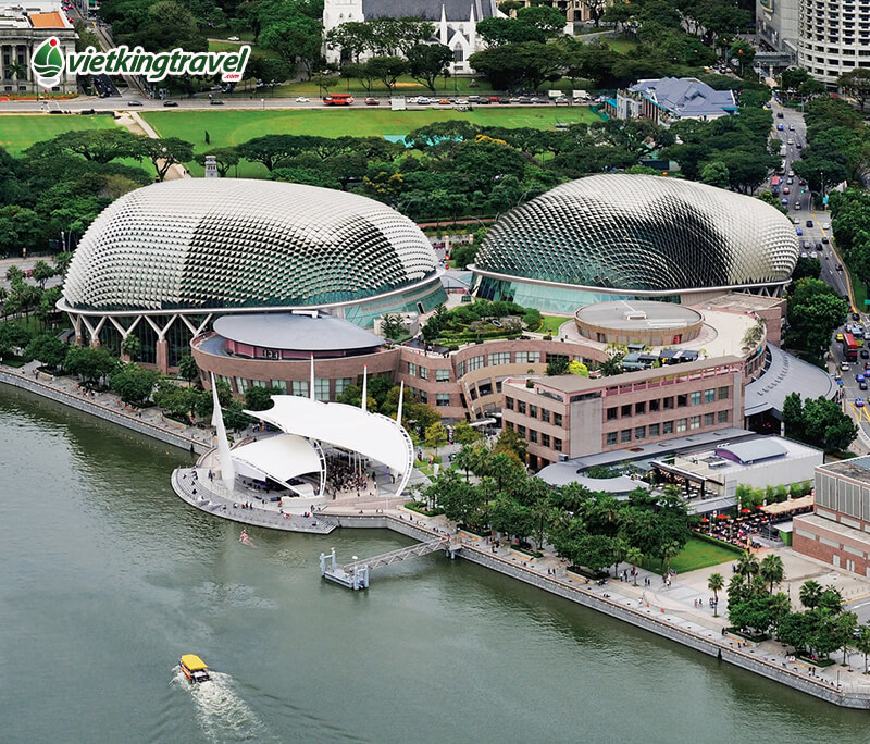 vịnh marina bay singapore