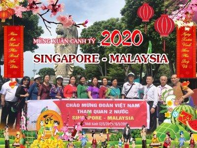 tour du lịch singapore malaysia tết