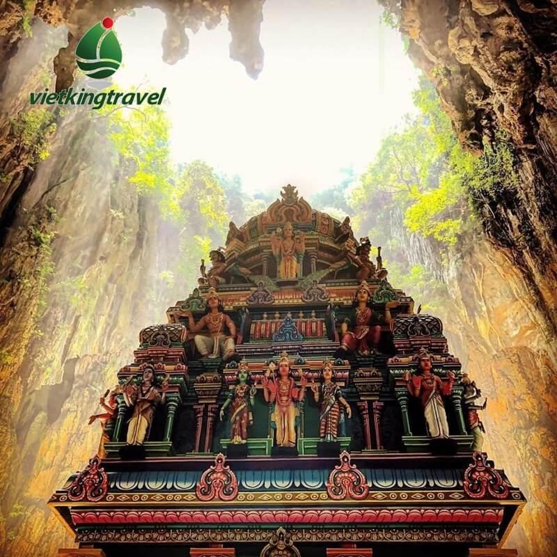 hang đền ở dộng Batu Malaysia