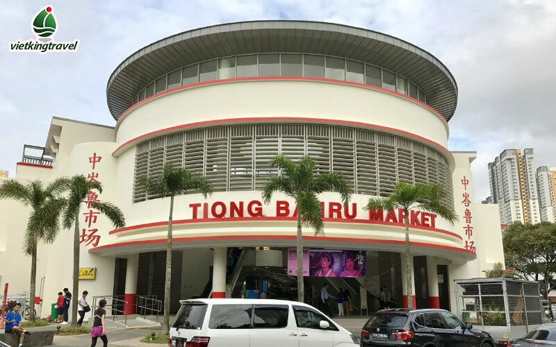 Tiong Bahru khu chợ tại singapore