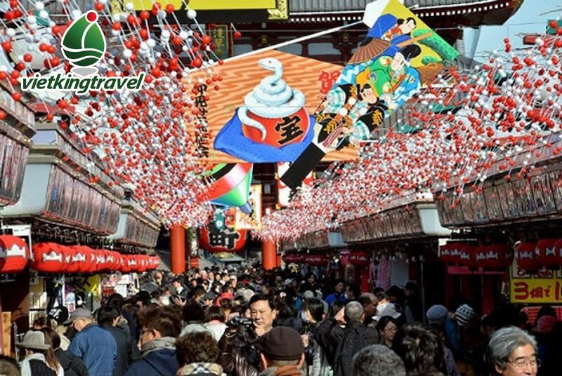 tết của người nhật Bản và các lễ hội khác nhau tại Nhật Bản