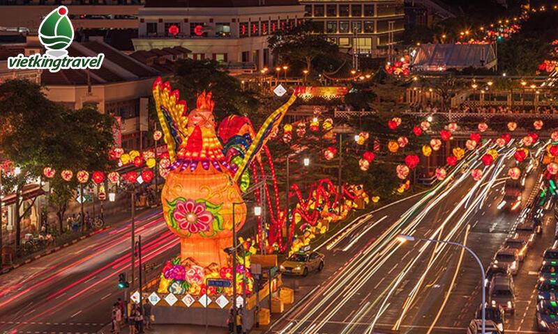 vi vu đón tết tại singapore và malaysia