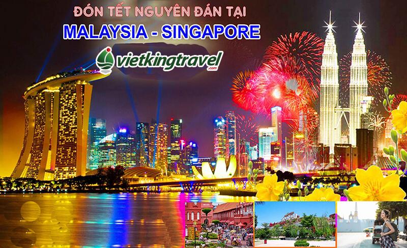 vi vu đón tết tại singapore malaysia