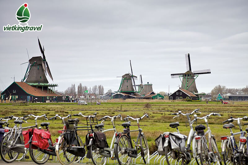 ngôi làng cổ Zaanse Schans