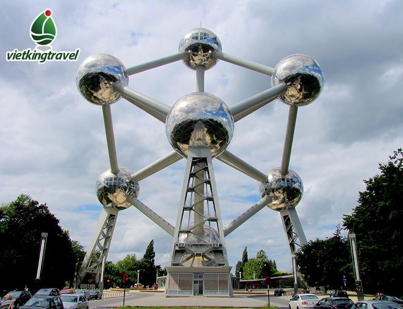 điểm đến Atomium đất nước bỉ