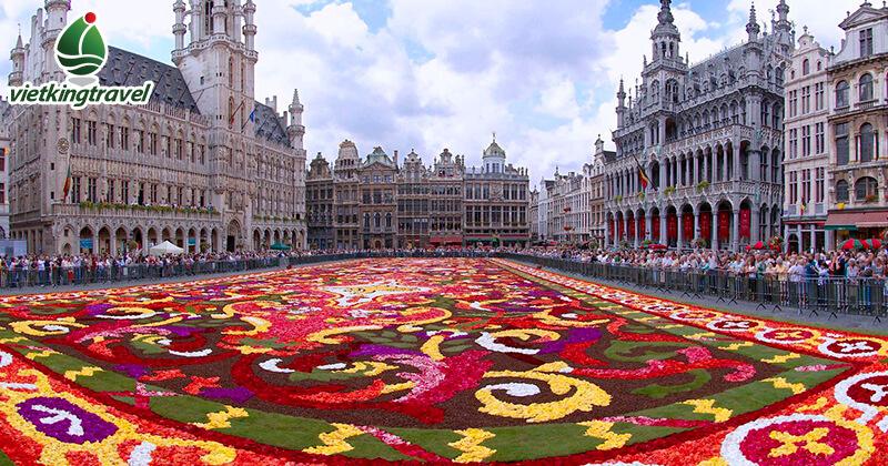 Quảng trường Lớn Grote nước bỉ Markt