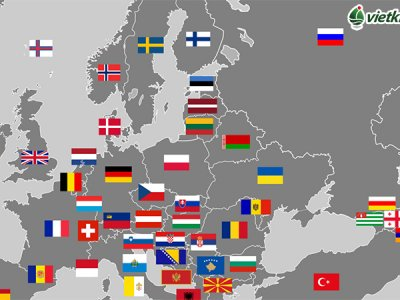 châu âu gồm những quốc gia nào