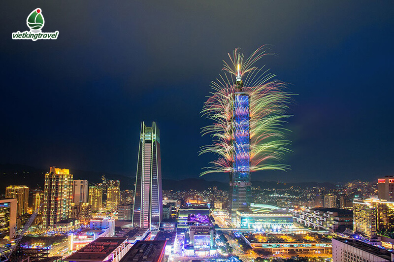 Countdown Chào Đón Giao Thừa 2020 tại Đài Loan,