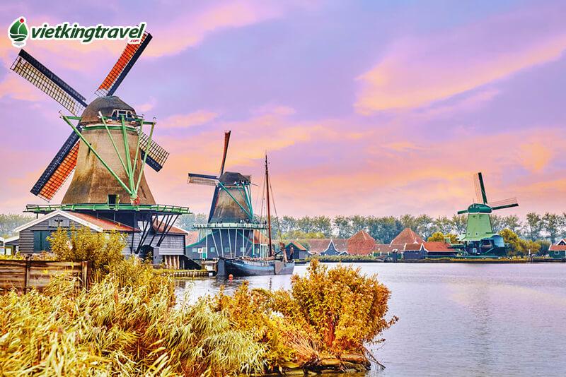 du lịch Hà Lan từ Hà Nội